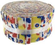 Fabric Freedom Flower Faries Yellow Freedom Roll, 100% Cotton, Multicoloured, 13 x 13 x 7 cm