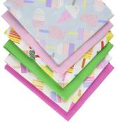 Fabric Freedom Popsicles Fat Quarter Bundle, 100% Cotton, Multicoloured, 13 x 13 x 2 cm