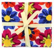 Fabric Freedom Flower Power Fat Quarter Bundle, 100% Cotton, Multicoloured, 13 x 13 x 2 cm
