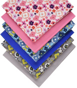 Fabric Freedom Ditsy Floral Fat Quarter Bundle, 100% Cotton, Multicoloured, 13 x 13 x 2 cm