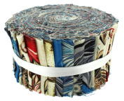 Fabric Freedom Marbled Magic Freedom Roll, 100% Cotton, Multicoloured, 13 x 13 x 7 cm