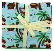 Fabric Freedom Pirates Sky Fat Quarter Bundle, 100% Cotton, Multicoloured, 13 x 13 x 2 cm