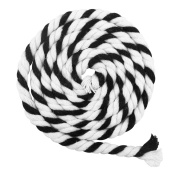 ROSENICE Cotton Rope 100m 6mm Multicolor 3-Ply Twisted Cord Soft Cotton String for DIY Art Crafts Decoration Bundling