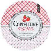 Promobo Trivet Melamine Jam Fruit Theme Red Strawberry Raspberry