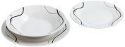 Quid Nudel Dinnerware Set Porcelain