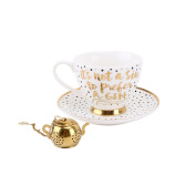 CGB Giftware Oh So Pretty Gin Tea Cup Set (One Size)