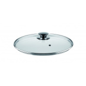 Castey T362 Round Glass Lid for Casserole Dish IR36