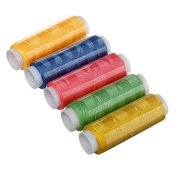 Koedu 39 Rolls Assorted Colour Spools Cotton Thread For Sewing Hand Machine