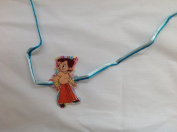 Rakhi Single Kids Childrens Hanuman with Blue, Green or Red/Yellow Thread