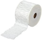 Vivant Plisse Ribbon, White