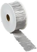 Vivant Plisse Ribbon, Silver