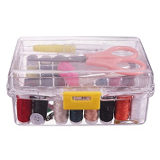Hrph Hand Sewing Needle and Thread Embroidery Sewing Box Sewing Kit Colour