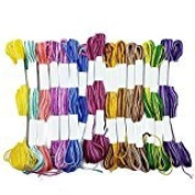 Ombre Colour Cross Stitch Cotton Embroidery Thread Sewing Skeins Floss