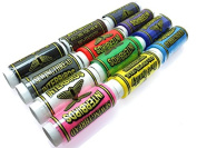 12 Spools of sewing thread in assorted colours