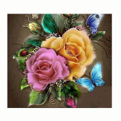 Hunpta Colourful 5D Embroidery Paintings Rhinestone Pasted diy Diamond painting Cross Stitch