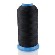 Yeelan Bonded Nylon Sewing Thread 1500 Yard Size T70 for Multi-Purposes,black