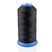 Alohha Bonded Nylon Sewing Thread 1500 Yard Size #69 T70 for Outdoor, Leather Seat, Bag, Shoes, Canvas, Upholstery Sewing Machine Hand Stitching