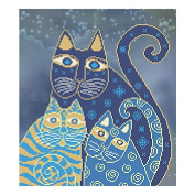 Dream Goes On Counted Bead Embroidery Kit 29x32 cm