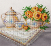 Summer Morning Counted Bead Embroidery Kit 20x19 cm