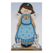 Girl Sophia Counted Bead Embroidery Kit 19x28 cm