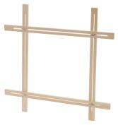 Elbesee Popular Adjustable Slot Frame, Wood, Brown, 500 mm