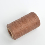 Mutiple Colours 284yrd x1mm Leather Sewing Waxed Thread For Chisel AWL Upholstery Shoes Luggage