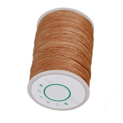 CNBTR 0.5mm 120m Polyester Waxed Line Leather Craft Sewing Wax Thread Cord