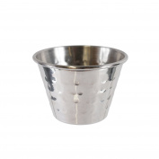 Saveur et Degustation KA1585 5 Pot Stainless Steel Hammered 4, 50 x 70 cm