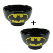 2 x Batman Dark Knight Ceramic Bowls