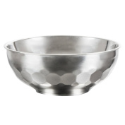 Landslide Stainless Steel Bowl Mixing bowl Stainless Steel Round Bowl Anti-ironing and heat-insulating soup Bowl