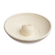 Black Velvet Studio Bowl Breakfast Natural colour natural, handcrafted, round design Rattan 7 x 28 x 28