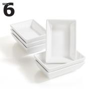6 x Rectangular Sauce Dish 'KINKI