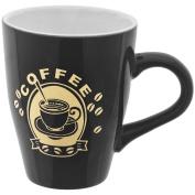 Promobo Coffee Black Chic Vintage Pub – 300ml Coffee Mug Cup