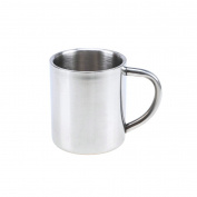 GuDoQi 304 Stainless Steel Double Wall Mugs Beer and Coffee Cups