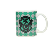SD Toys Harry Potter Slytherin mug, ceramic, green and white, 10 x 14 x 12 cm