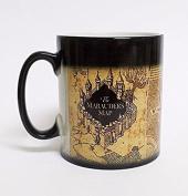 Hiros®Harry Potter Marauder's Map , Colour Changing Magic black heat sensitive Coffee Mug , 330ml Ceramic Mug.Christmas Gift , Ideal gift mug for Harry Potter Lovers.