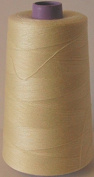 5000m Polyester Overlocker & Sewing Machine Thread Choice Colours Best Quality - Milky Cream - 397