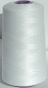 5000m Polyester Overlocker & Sewing Machine Thread Choice Colours Best Quality - White - 102