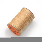 AngelaKerry Waxed Thread 0.8mm 60m Polyester Cord Sewing Stitching Leather Craft Bracelet Linen Jewellery