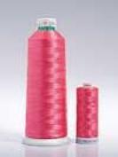 Madeira Polyneon 1000m No. 40 Machine Embroidery Thread Cop/Cone 1993 Pink