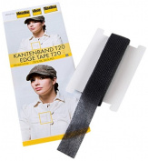 Vilene 5 m x 20 mm Iron-On Edge Tape, Black