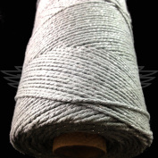 100 Metres, SPARKLE SILVER BEAUTIFUL BAKERS TWINE 100% COTTON 2mm 2 PLY MADE IN THE UK - STRING CORD CRAFT PAPER - FREE UK DELIVERY