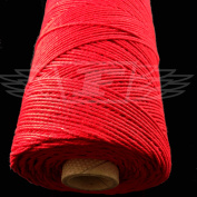 1 Metre, RED (SOLID COLOUR) BEAUTIFUL BAKERS TWINE 100% COTTON 2mm 2 PLY MADE IN THE UK - STRING CORD CRAFT PAPER - FREE UK DELIVERY