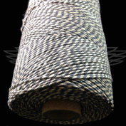 1 Metre, LAKELAND SLATE BEAUTIFUL BAKERS TWINE 100% COTTON 2mm 2 PLY MADE IN THE UK - STRING CORD CRAFT PAPER - FREE UK DELIVERY