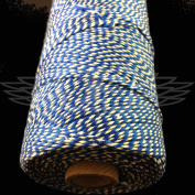 1 Metre, OXFORD BLUE BEAUTIFUL BAKERS TWINE 100% COTTON 2mm 2 PLY MADE IN THE UK - STRING CORD CRAFT PAPER - FREE UK DELIVERY