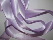 Lilac Quality Double Satin Ribbon 2 metres X 7 mm For £1.25