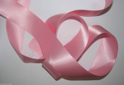 Pink Quality Double Satin Ribbon 1 metre X 35 mm For £1.25