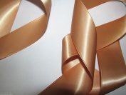 Caramel Quality Double Satin Ribbon 1 metre X 35 mm For £1.25