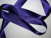 Purple Quality Double Satin Ribbon 1 metre X 10 mm For £1.25