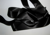 Black Quality Double Satin Ribbon 3 metres X 3mm For £1.25